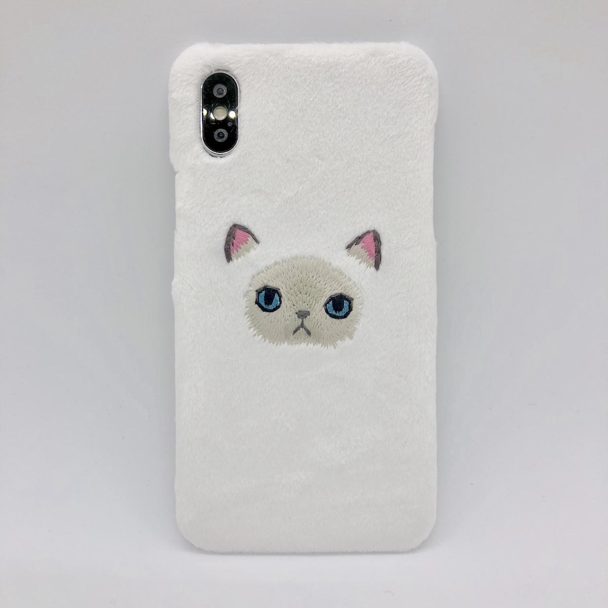 【iPhoneX/Xs専用】ヒマラヤンiPhoneケース【新生地】