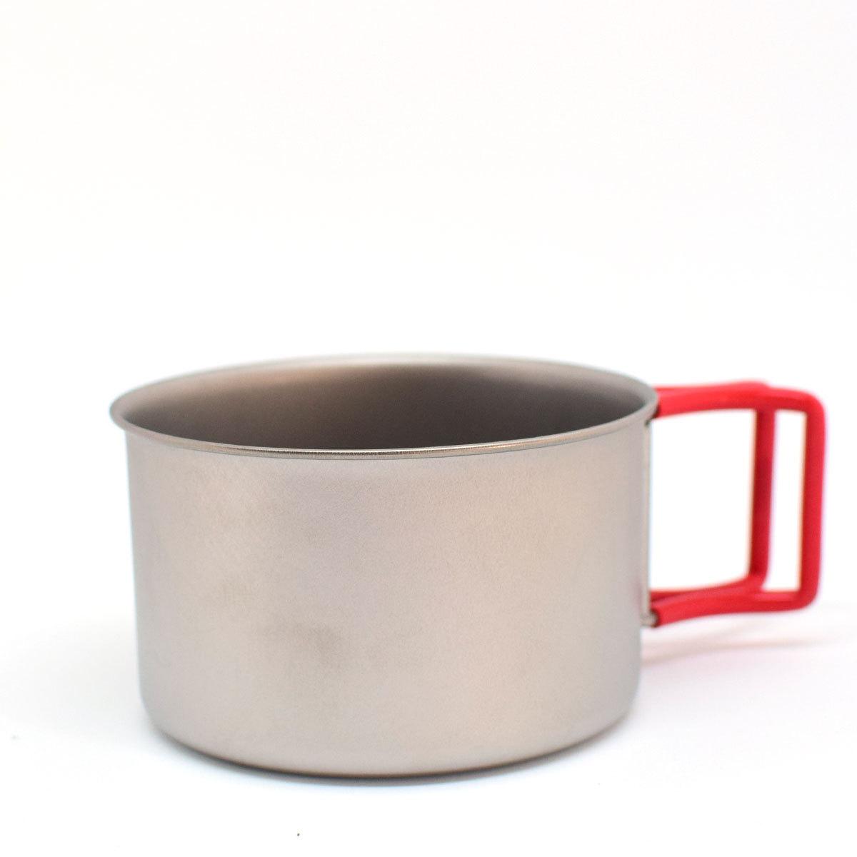 EVERNEW チタンカップ400FD RED EBY265R エバニュー