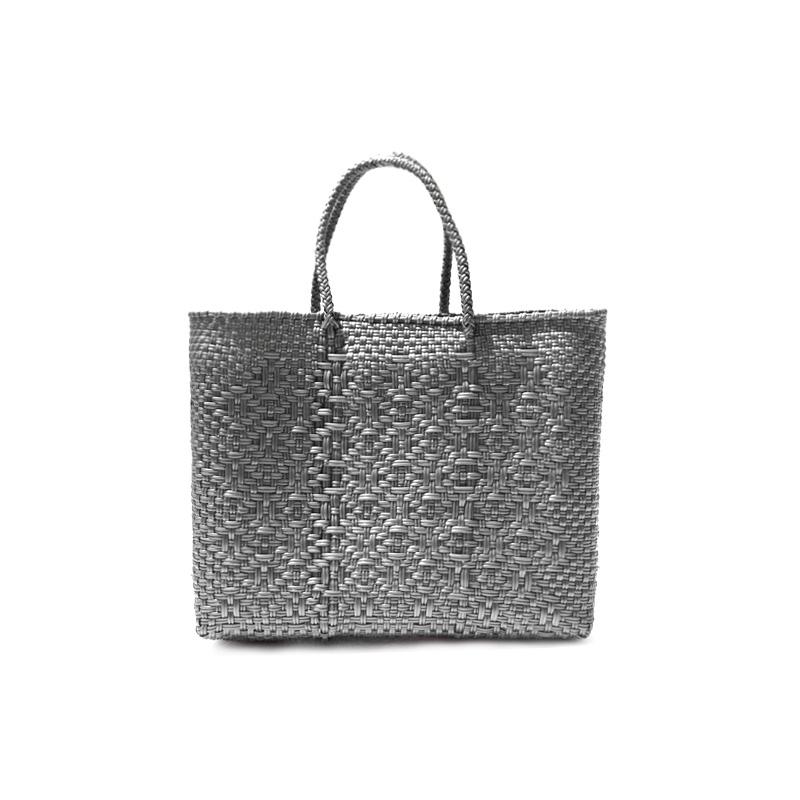 MERCADO BAG ROMBO - Silver(XS)