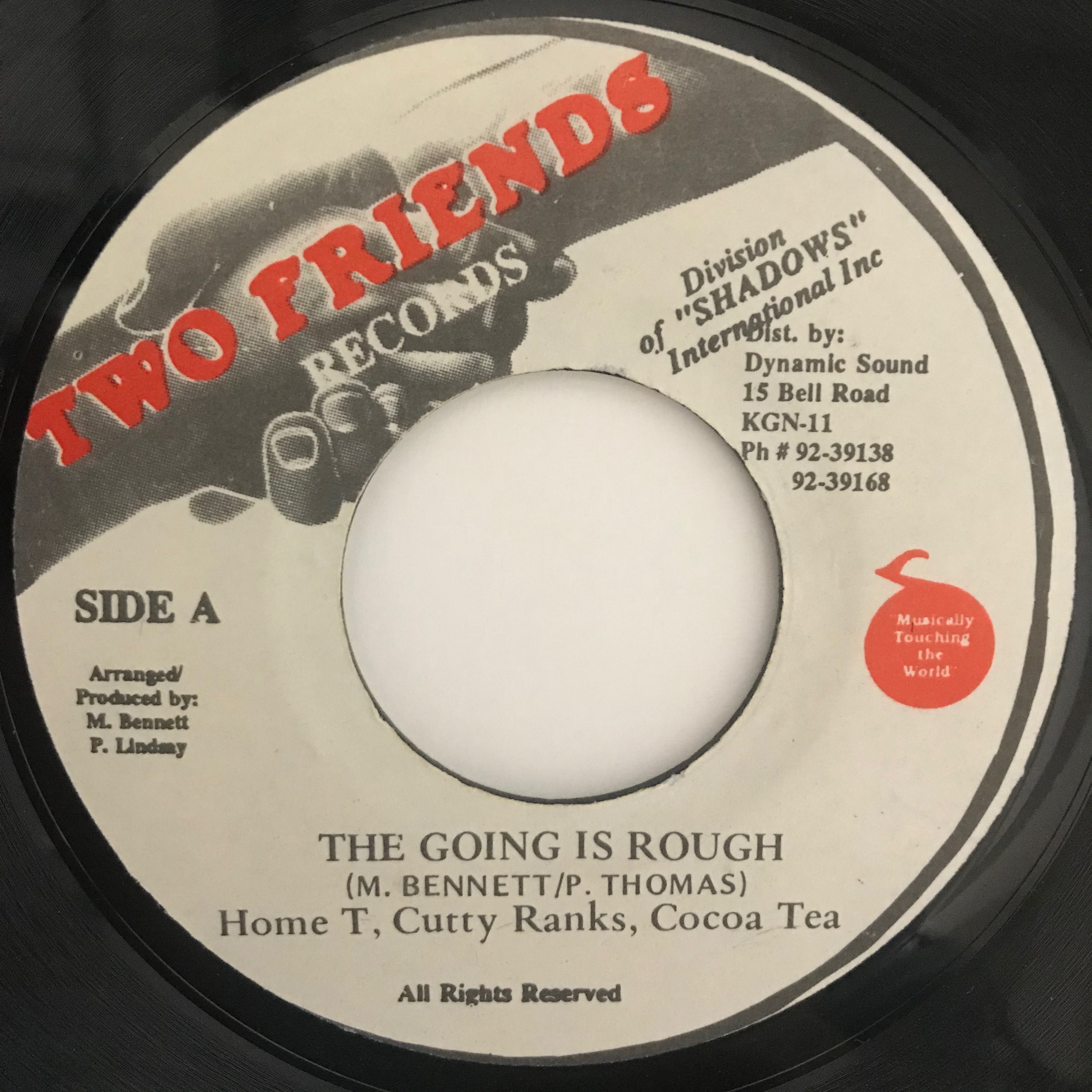 Home T, Cutty Ranks, Cocoa Tea - The Going Rough【7-10761】