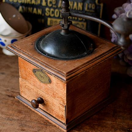 1910年頃 フランス Peugeot & Cie 木製コーヒーミル