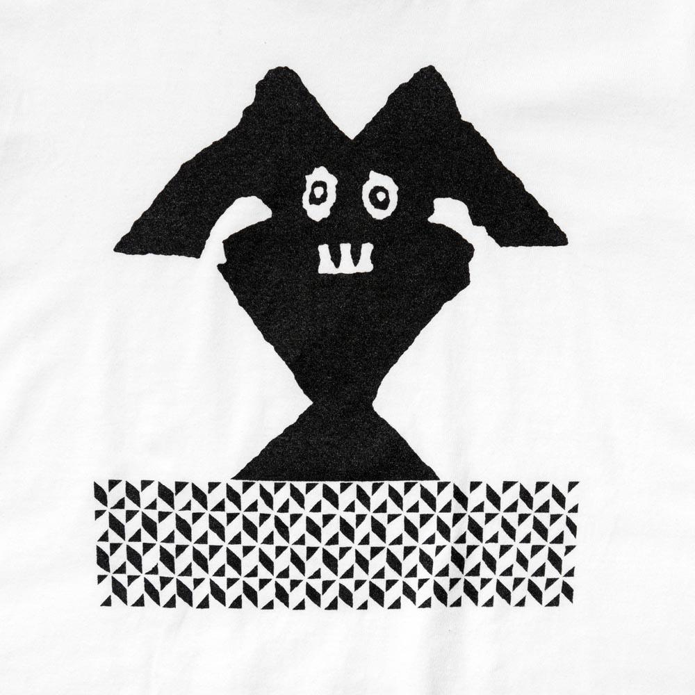 TACOMA FUJI RECORDS The Chancay Slit designed by Matt Leines WHITE