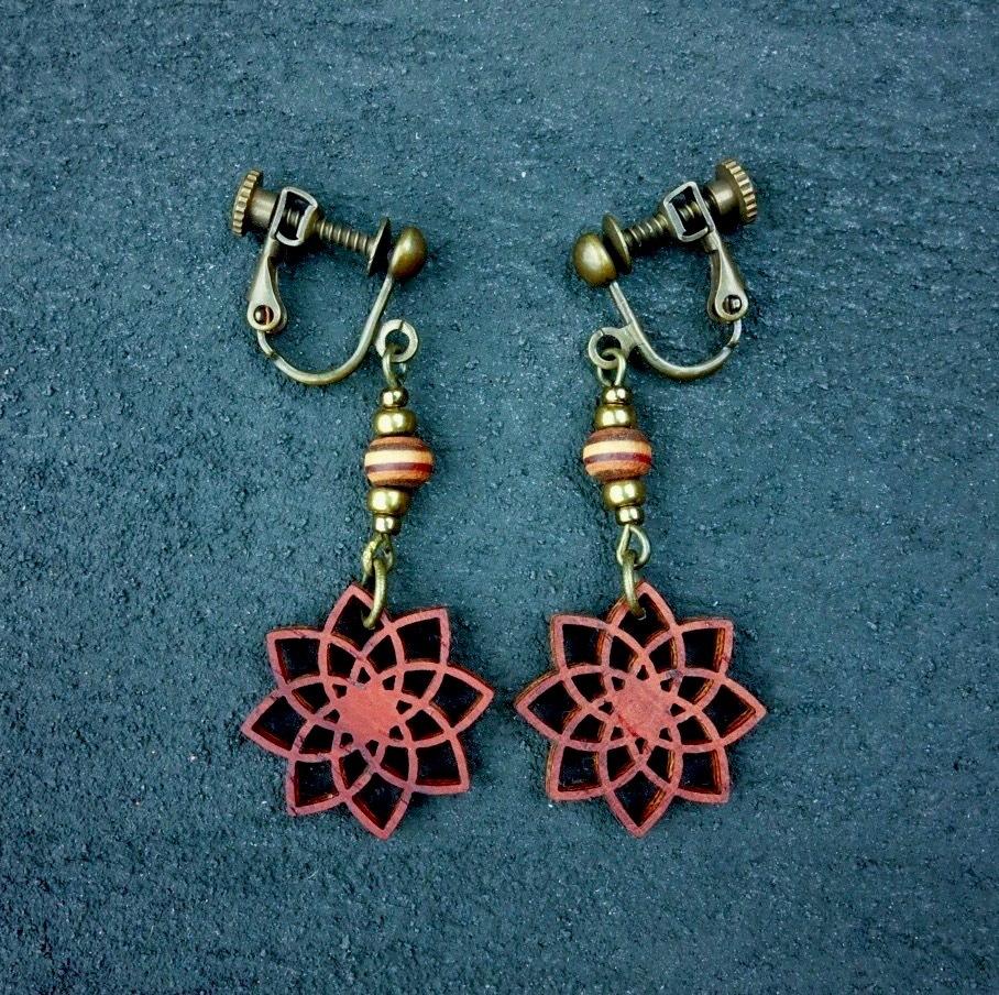 geometric earring EKL-WB-PD