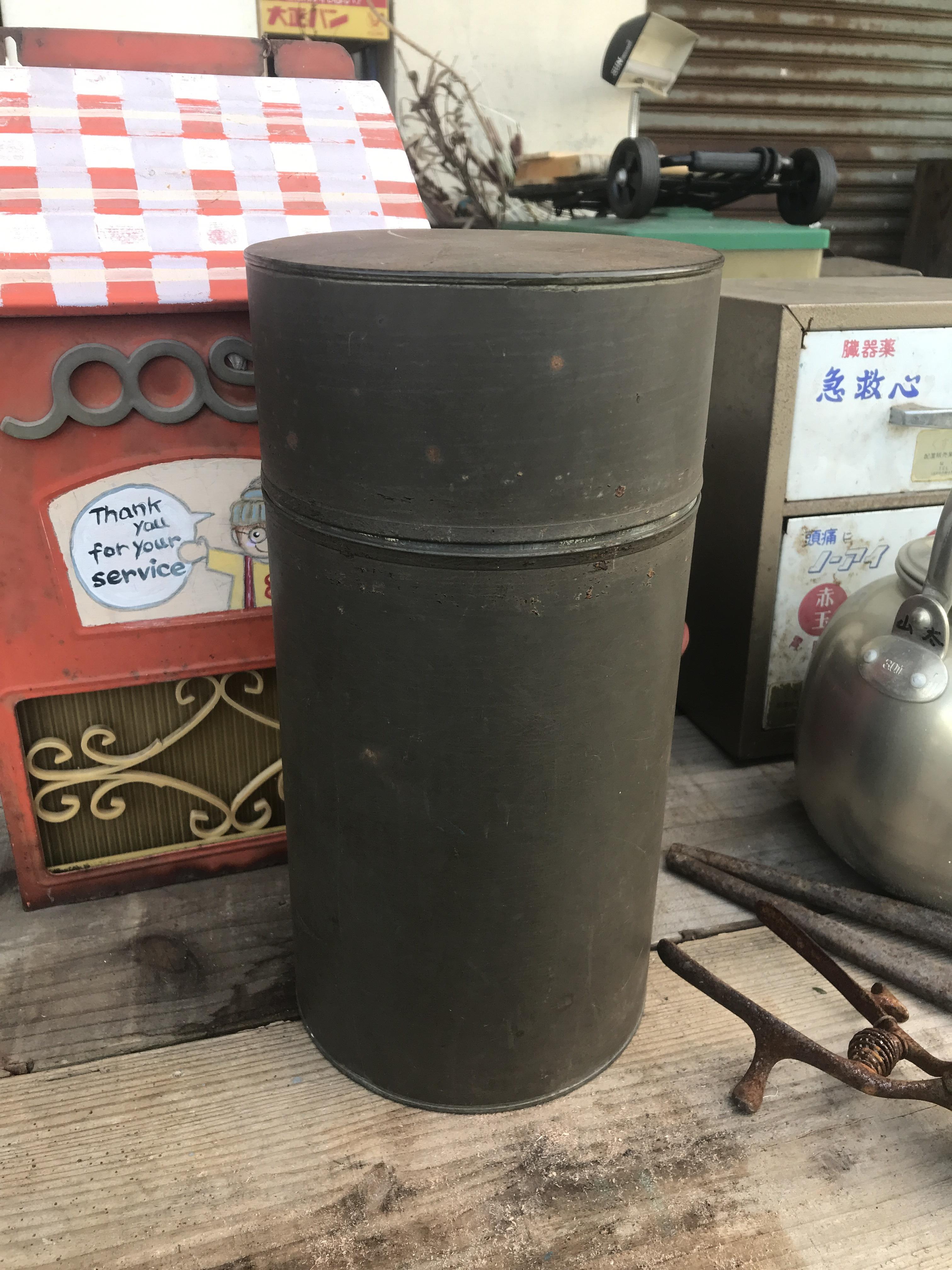 レトロ 茶筒