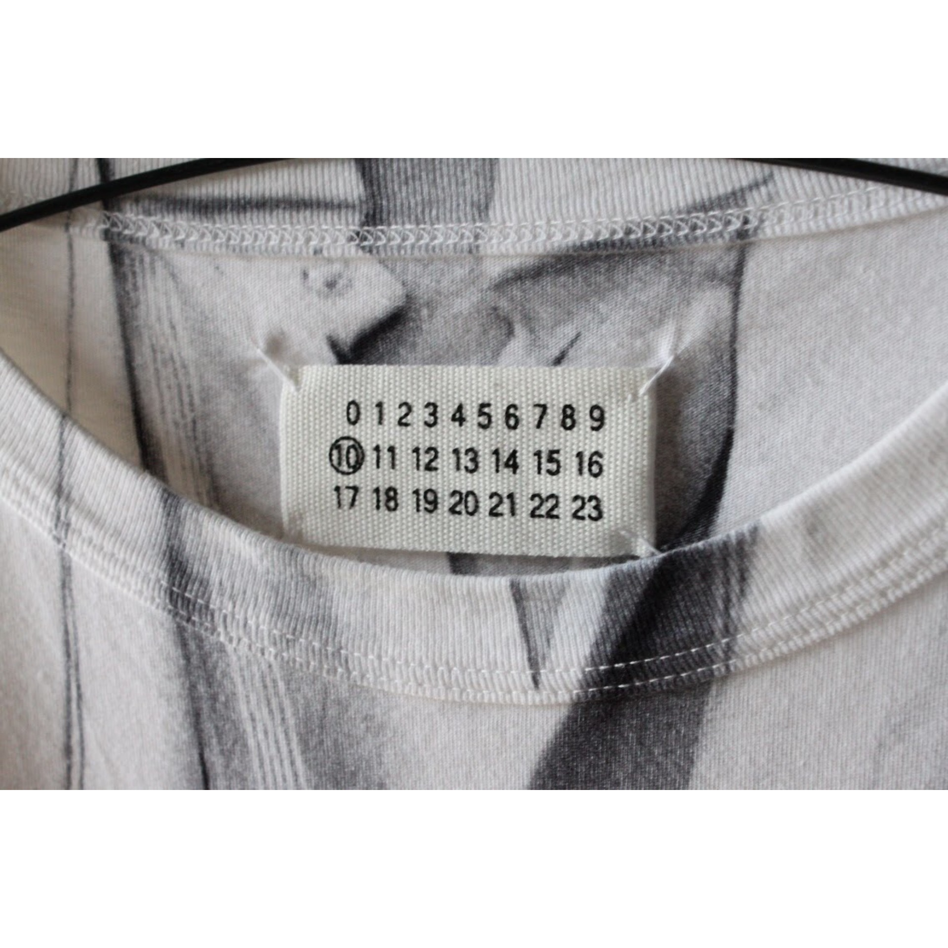 Printed long sleeve shirt by Maison Margiela
