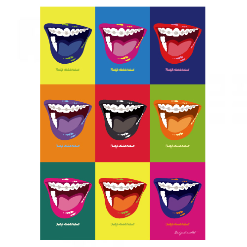 Orthodontic(Color)B3ポスター