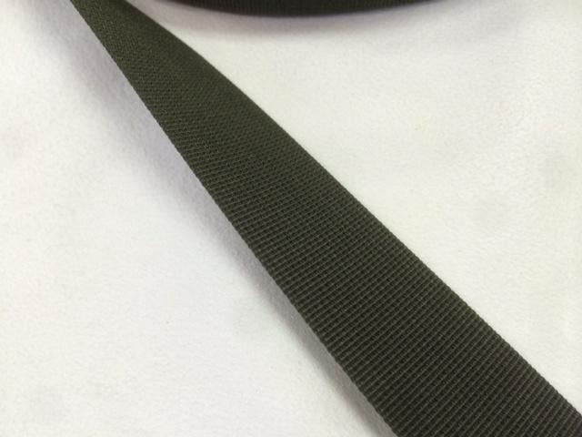 ナイロンテープ 高密度織 25mm幅 1mm厚 カラー(黒以外) 1m単位
