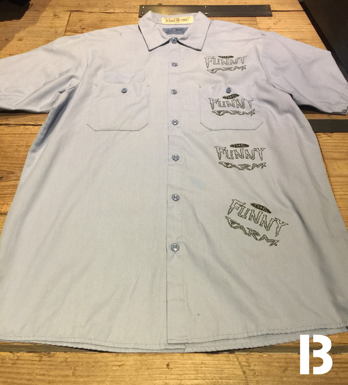 FUNNY FARM USED MULTI WORK SHIRT