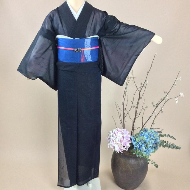 夏用紗の小紋77