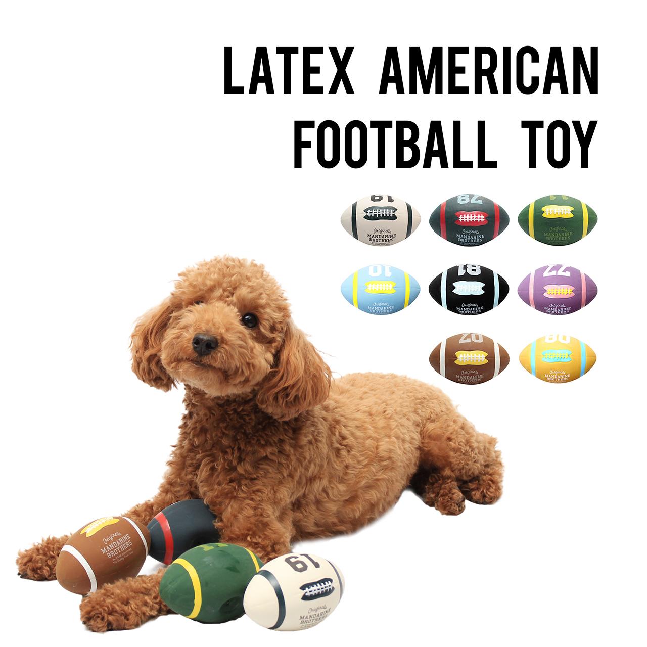 LATEX AMERICAN FOOTBALL TOY ラテックスアメリカンフットボールトイ