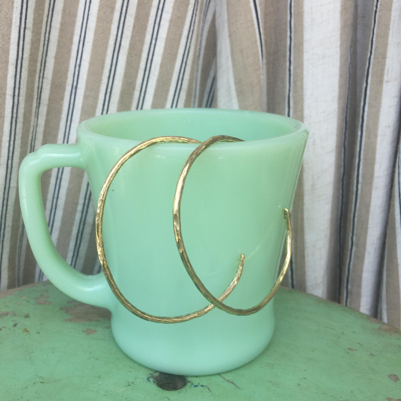 ハンマードバングル ブラス(真鍮)