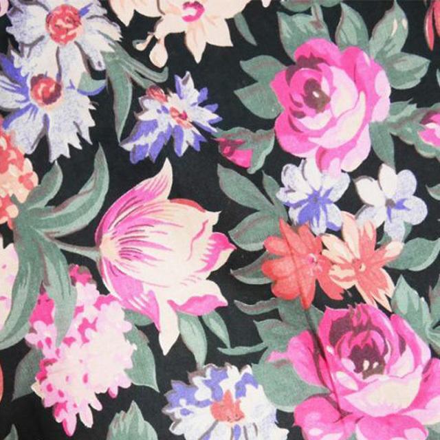 ≪USED≫花柄ワイドパンツ