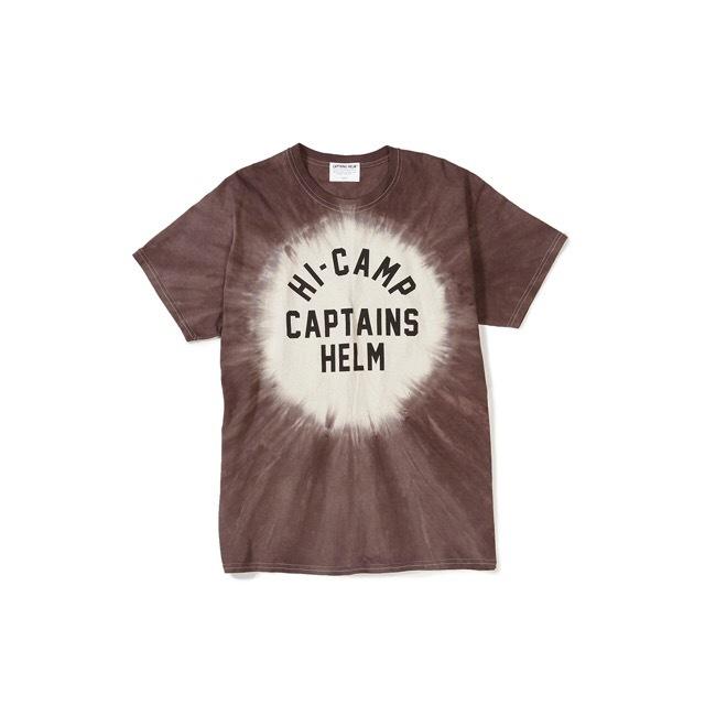 CAPTAINS HELM #Hi-Camp Tie-Dye Tee