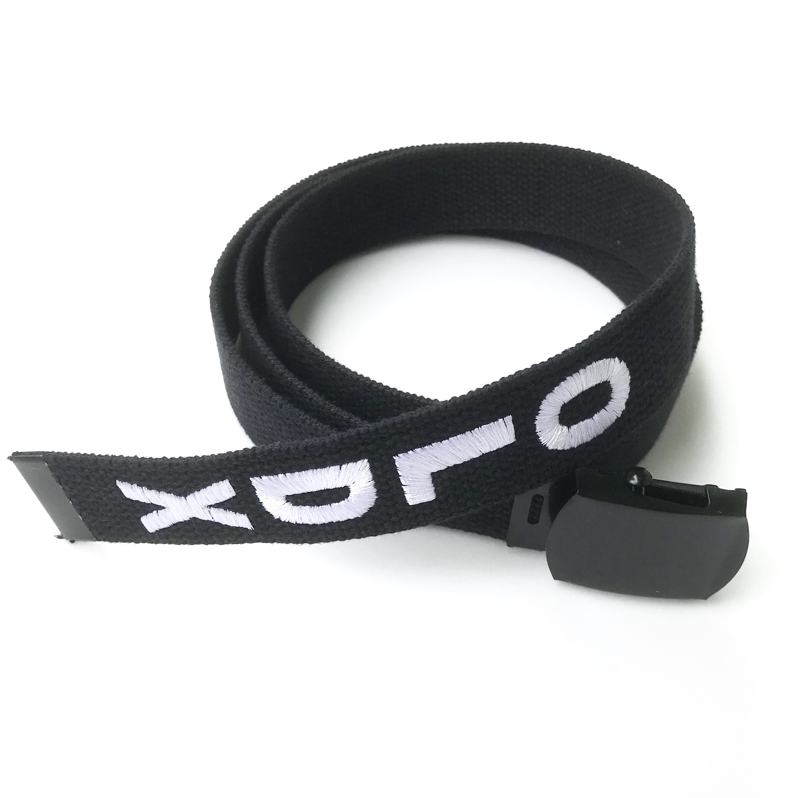 Long web belt(BLACK x WHITE)