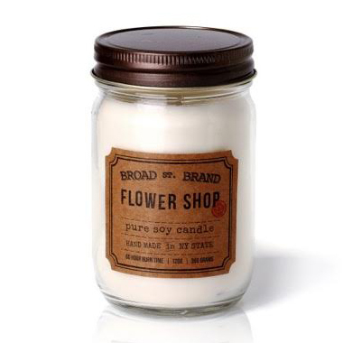FLOWER SHOP CANDLE - BROAD STREET BRAND