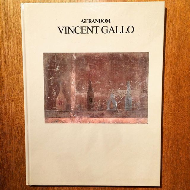 ヴィンセント・ギャロ画集「Vincent Gallo Paintings and Drawings 1982-1988 (Art Random) 」 - 画像1