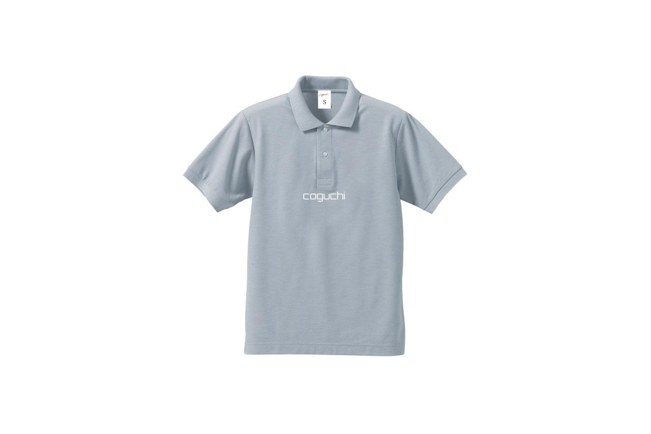 coguchi logo polo shirt (GRY)