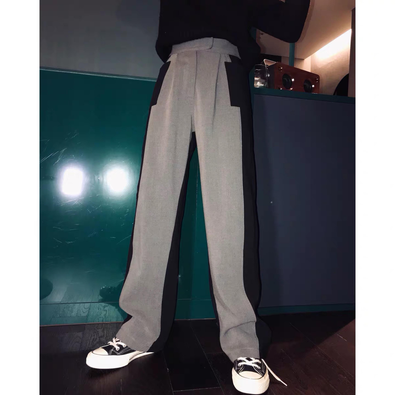 side pocket color pants