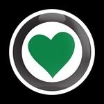 ゴーバッジ(ドーム)(CD0259 - GIRL HEART 102 GREEN) - 画像1