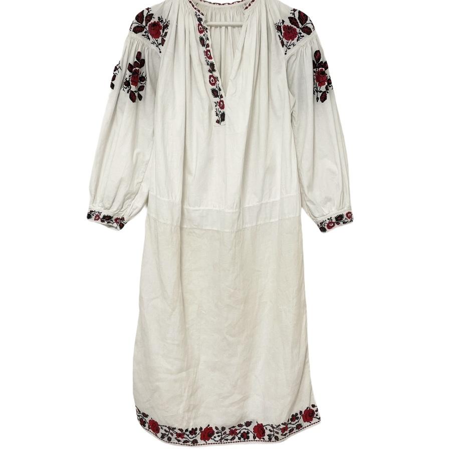 5 Ukrainian Embroidered Dress