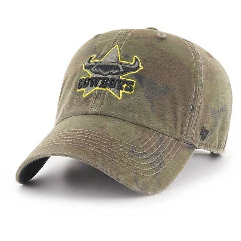 North Queensland Cowboys CLEAN UP Cap Camo