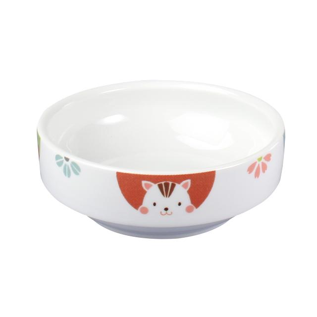【1712-1370】強化磁器 11.5cm すくいやすい食器 かくれんぼ