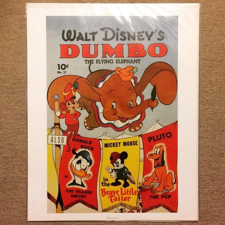 ポスター「ディズニー ダンボ」 - 画像1