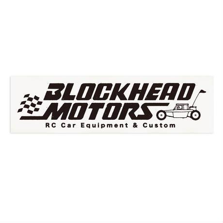 BLOCKHEAD MOTORS BHオールドロゴステッカー