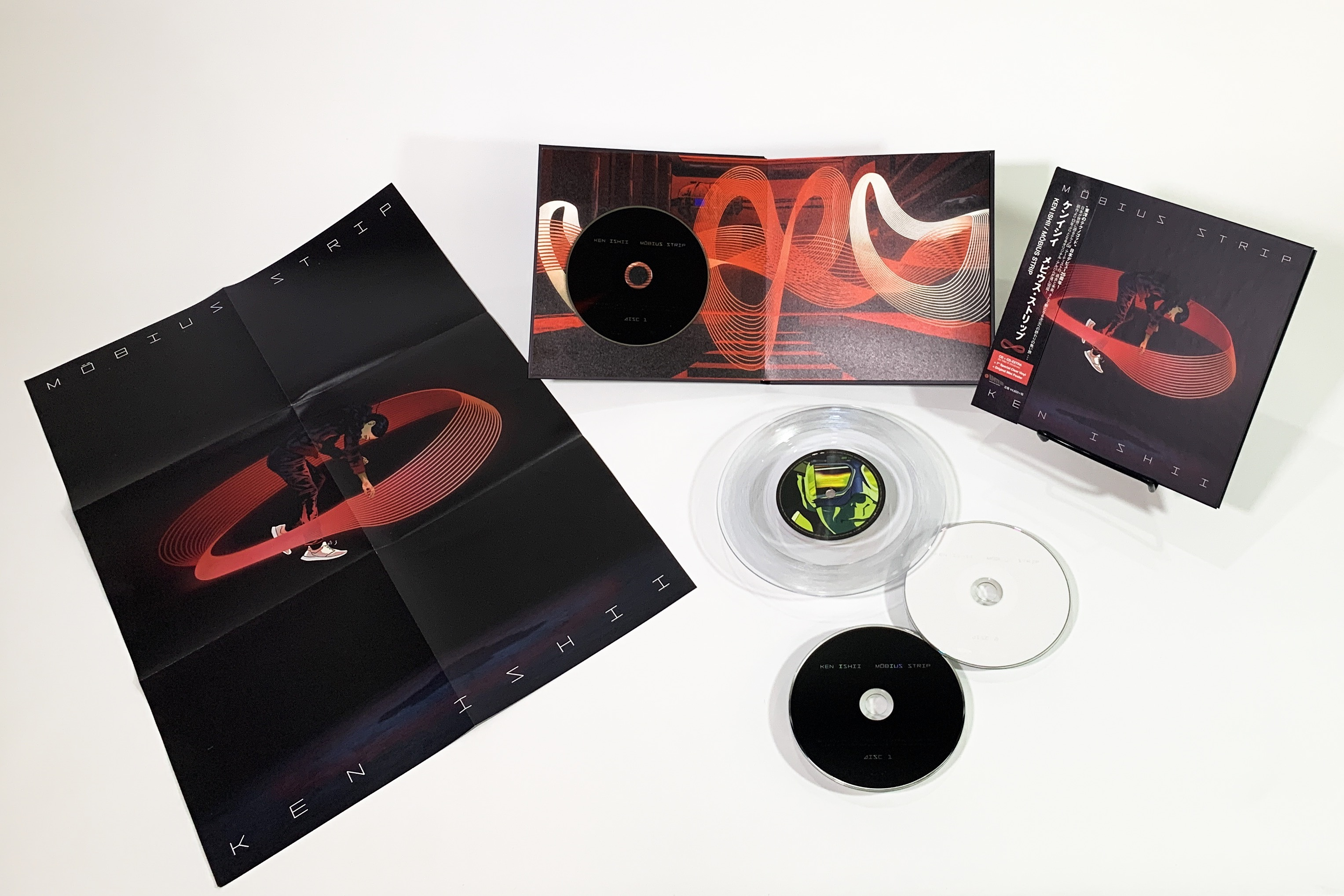 KEN ISHII - 『Möbius Strip』【完全生産限定盤Type A】 - 画像2