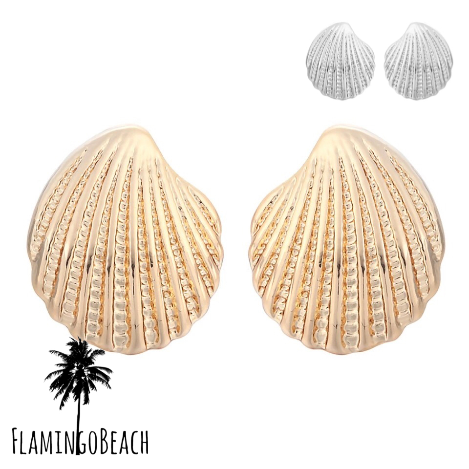 【FlamingoBeach】shell pierce シェルピアス