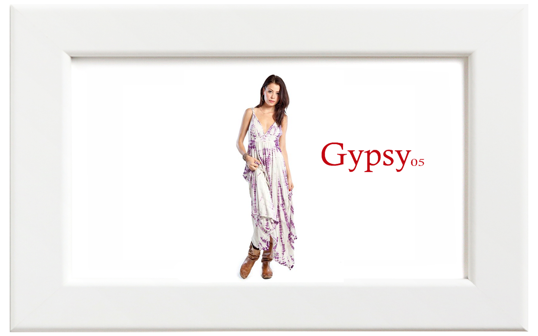 Gypsy05/ジプシー05 ALLIGATORマキシドレス/パープル【在庫限り】