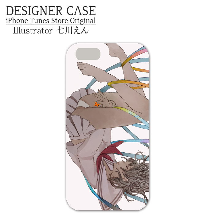 iPhone6 Soft case[omedetou] Illustrator:Enn Nanakawa