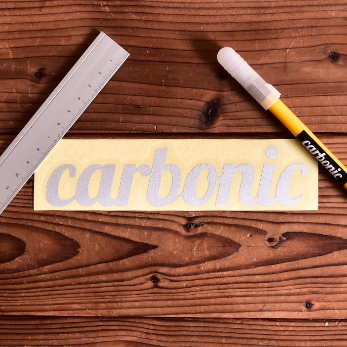 carbonic cutting sticker Reflection (L)