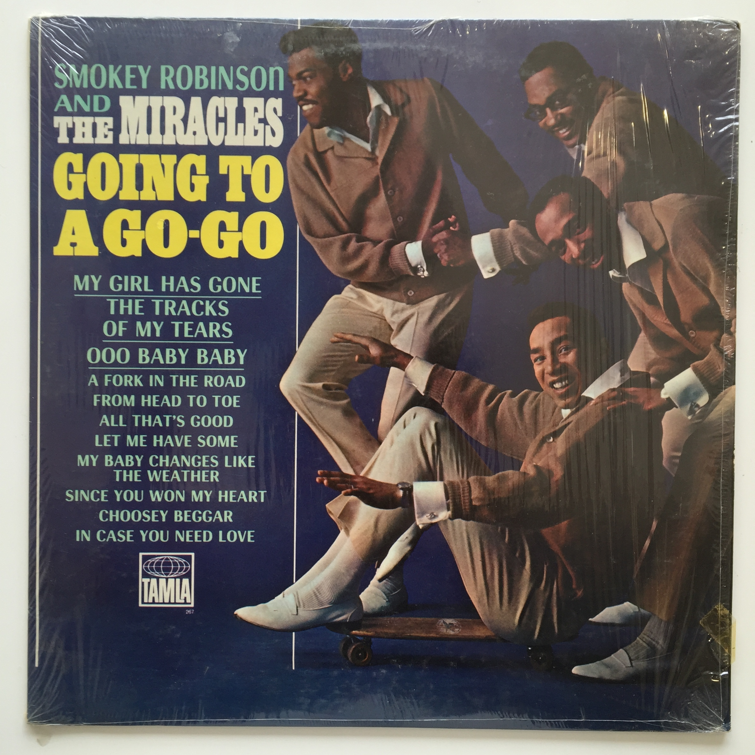 ●SMOKEY ROBINSON AND THE MIRACLES / GOING TO A GO-GO