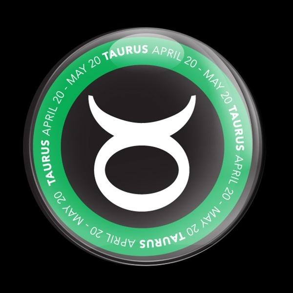 ゴーバッジ(ドーム)(CD0054 - ASTROLOGY TAURUS) - 画像1