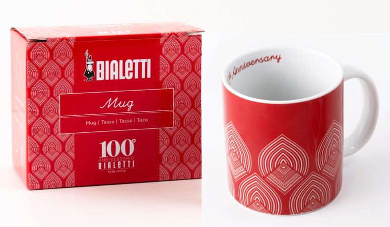 【国内正規品】Bialetti 100周年マグカップ レッド