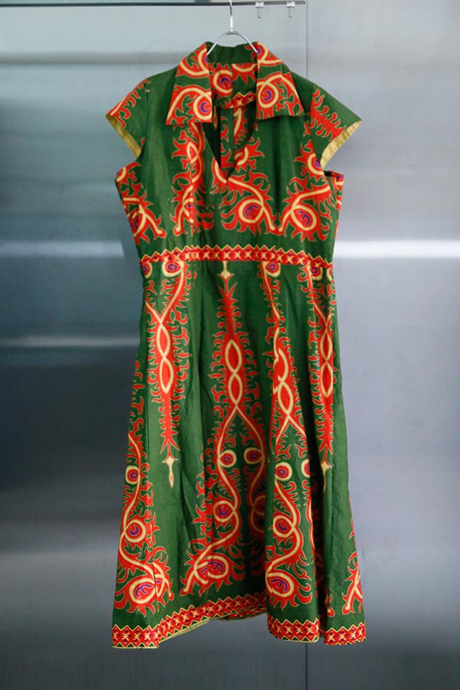 African Batik Printed Dress