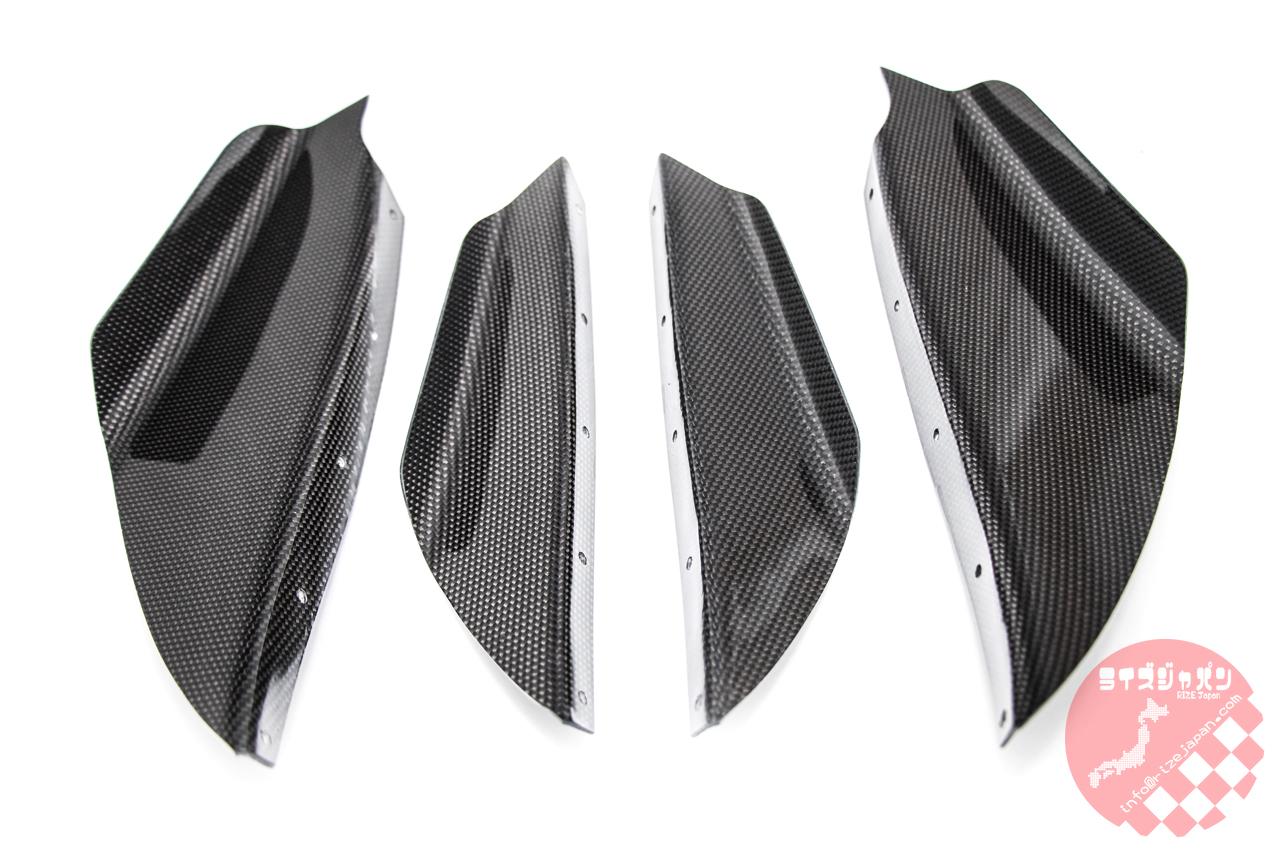 スバル インプレッサ GD系 ホークアイ モデルM カーボンカナードキット Subaru Imprezza GD model Hawk Eye Carbon Canard kit