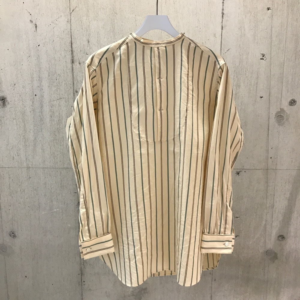 FILL THE BILL  BAND COLLAR BOZAMU BLOUSE 【WOMENS】