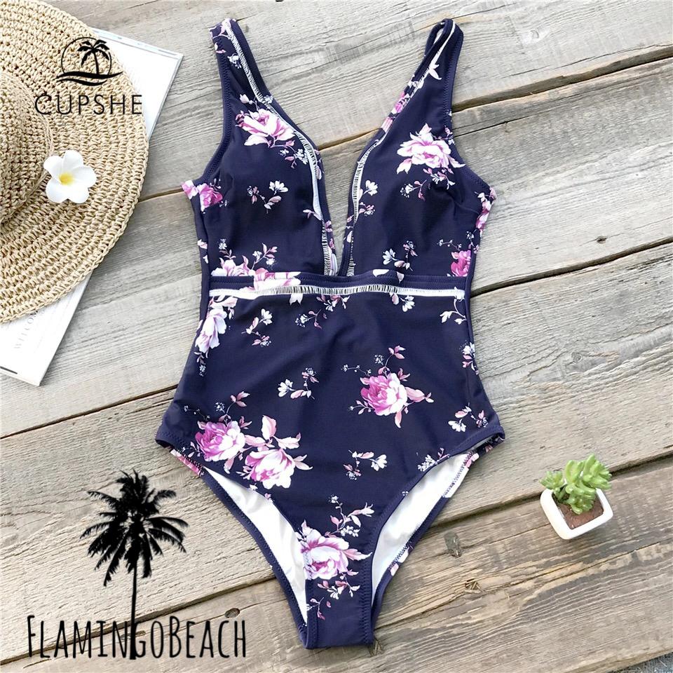 【FlamingoBeach】flower monokini モノキニ
