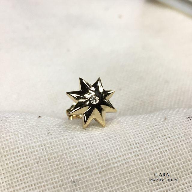 K18・ダイヤモンドピアス
