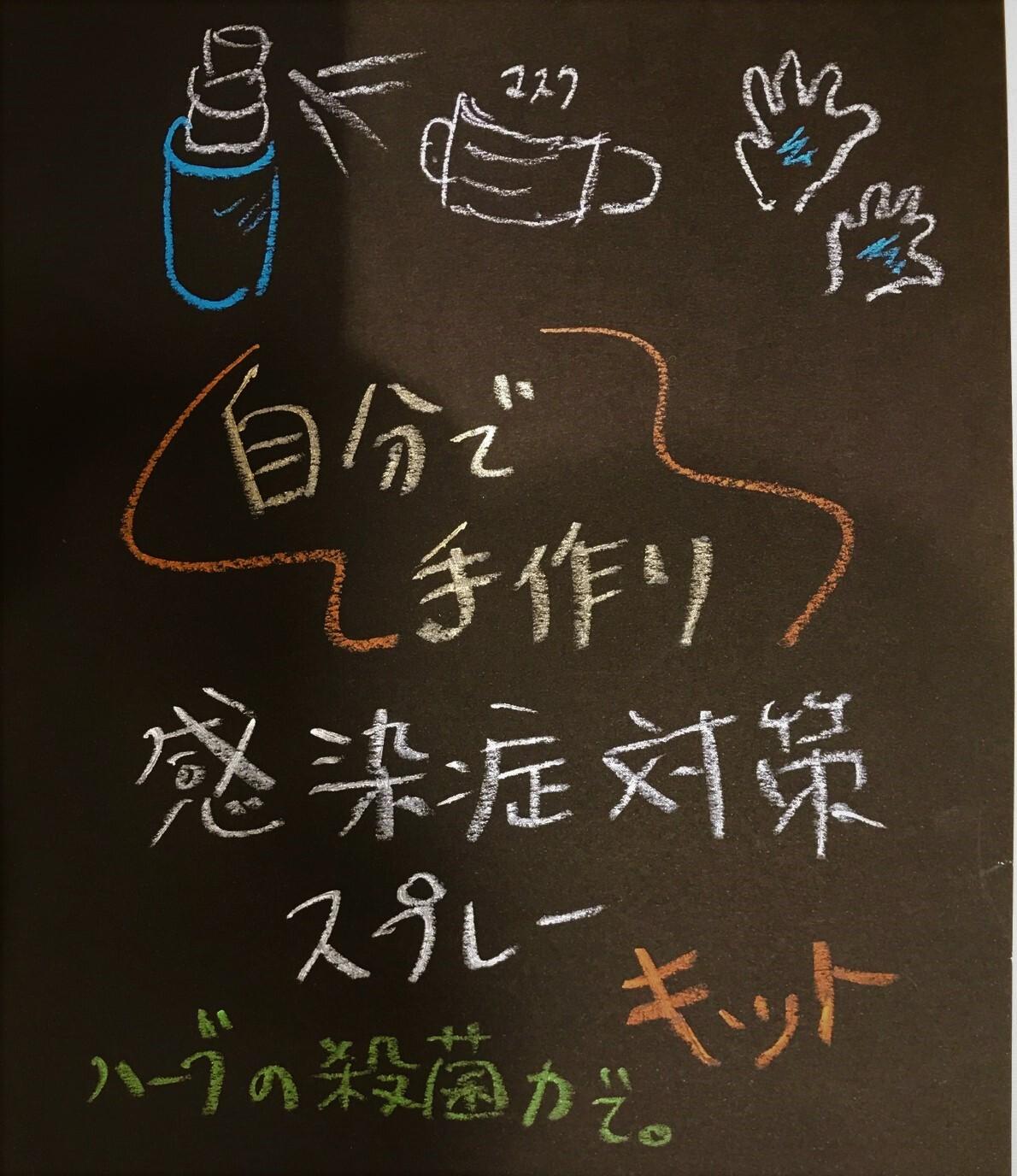 ガーデンオリジナル★感染症対策スプレーキット3種