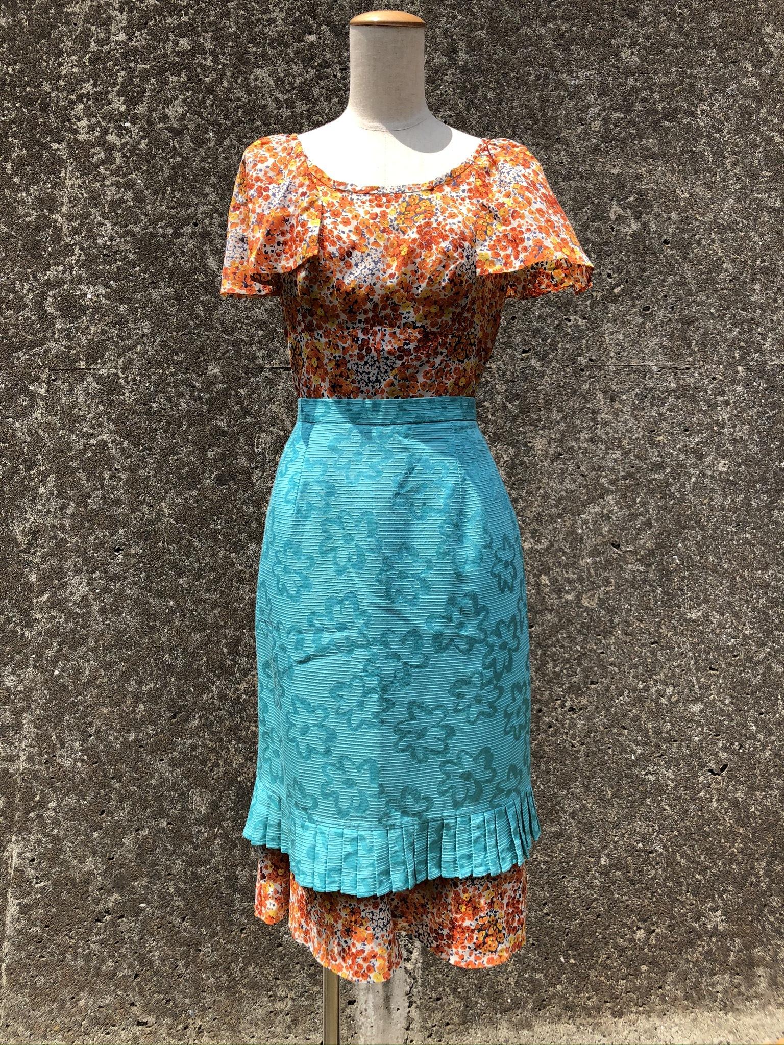 flower tighi skirt