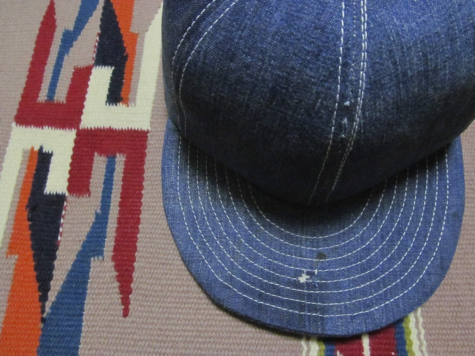 30S40S DENIM MODIFIED CAP