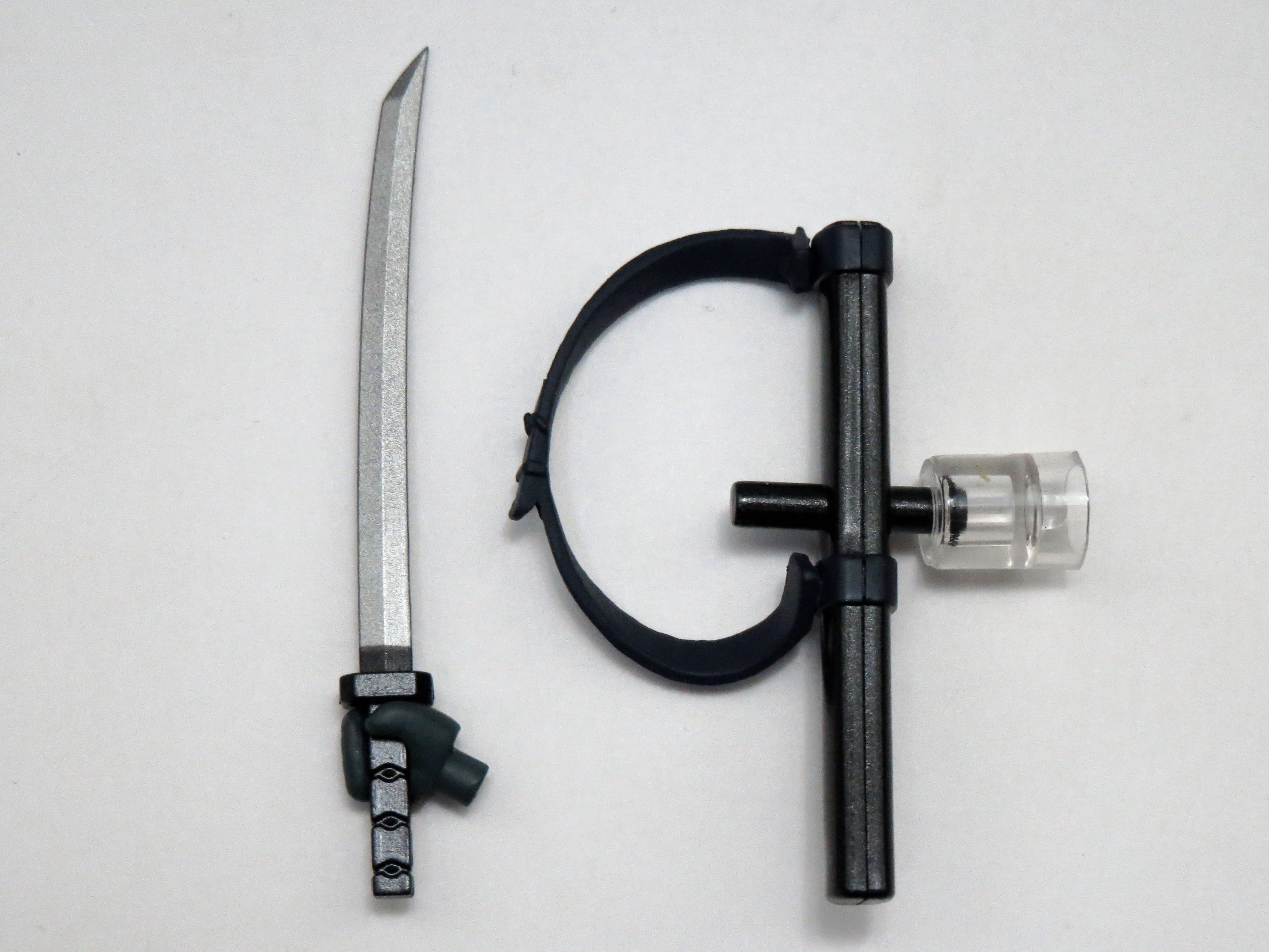 再入荷【538】 雷電 MGS2Ver. 小物パーツ 刀と鞘 ねんどろいど