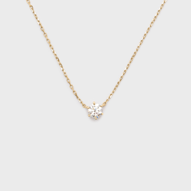 ENUOVE frutta Diamond Necklace K18YG(イノーヴェ フルッタ 0.25ct K18イエローゴールド ダイヤモンドネックレス アジャスターワカンチェーン)