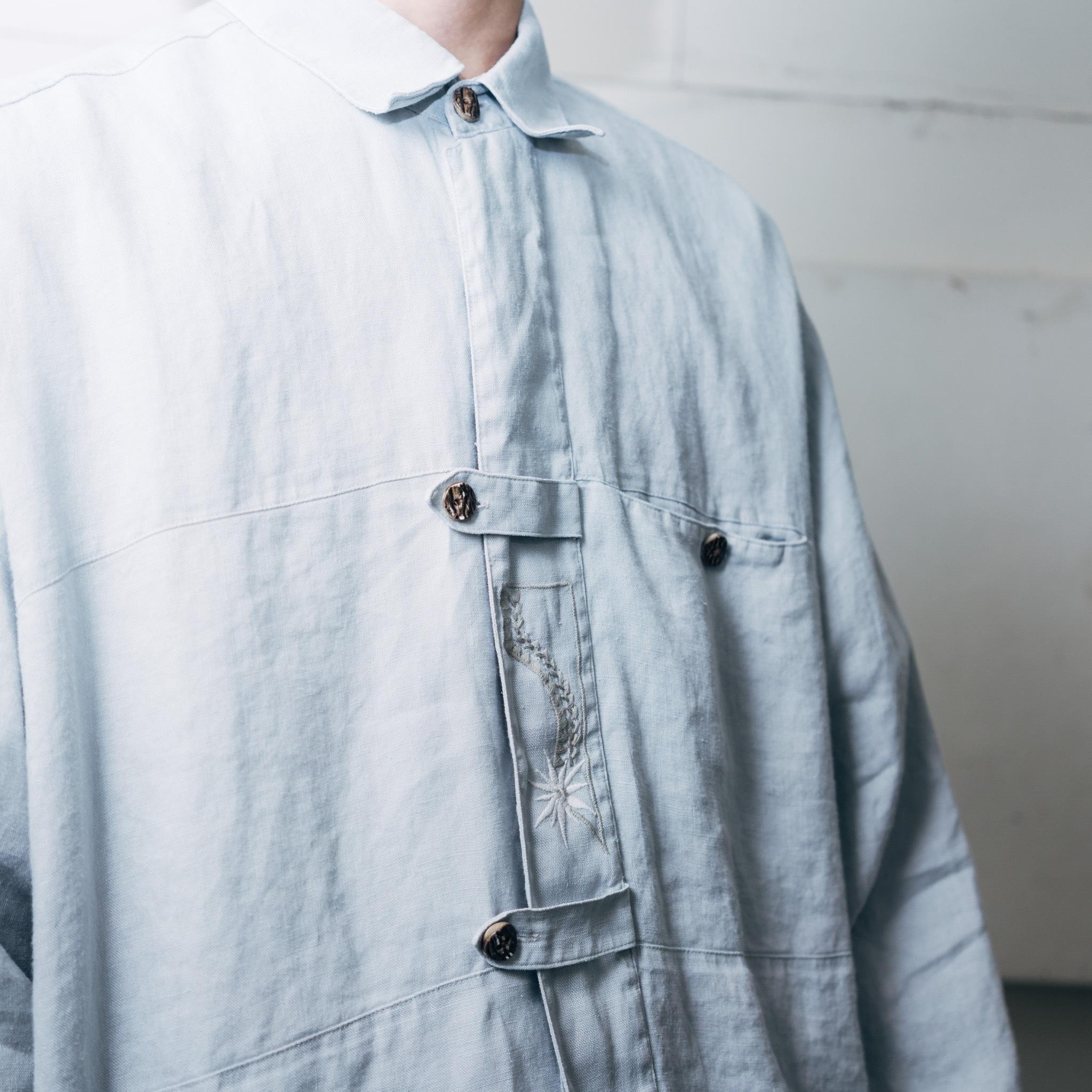 刺繍シャツ