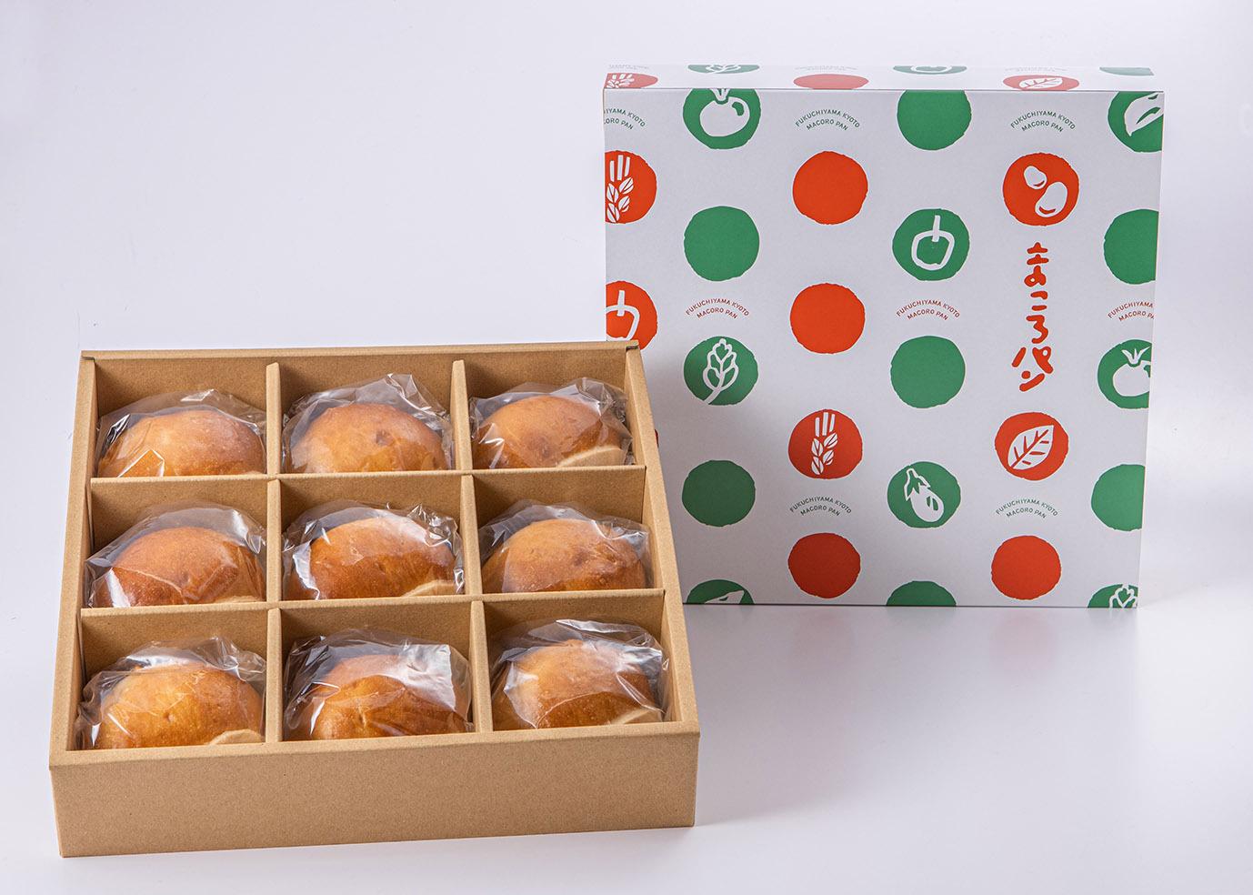 【秋限定!数量限定】まころの栗パン 9個入りボックス