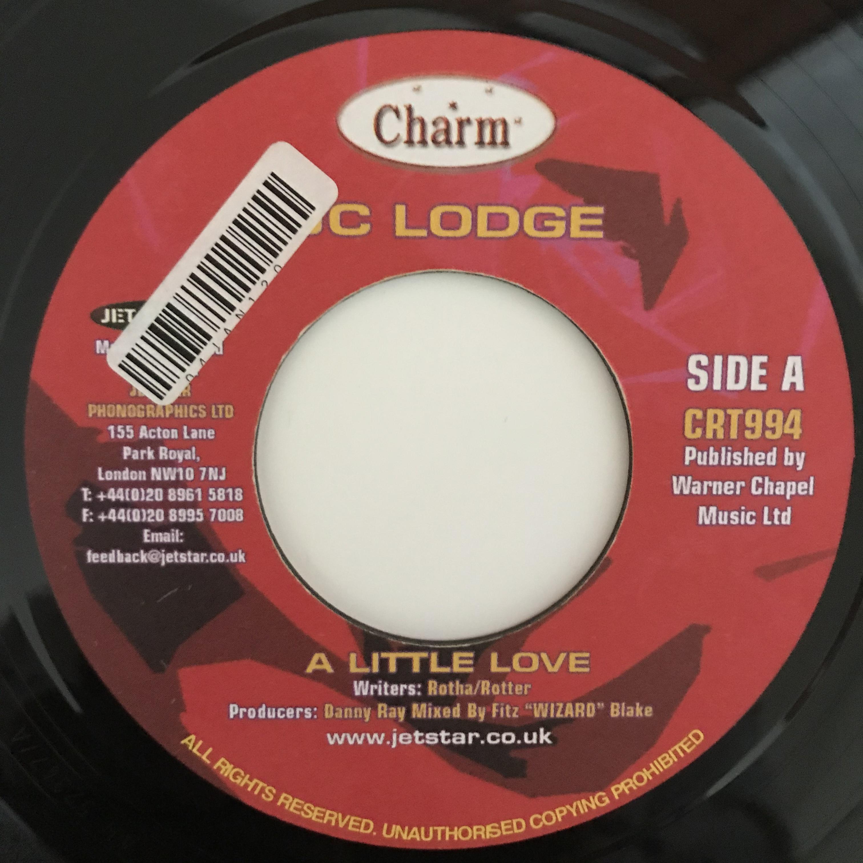 Jc Lodge - A Little Love【7-10868】
