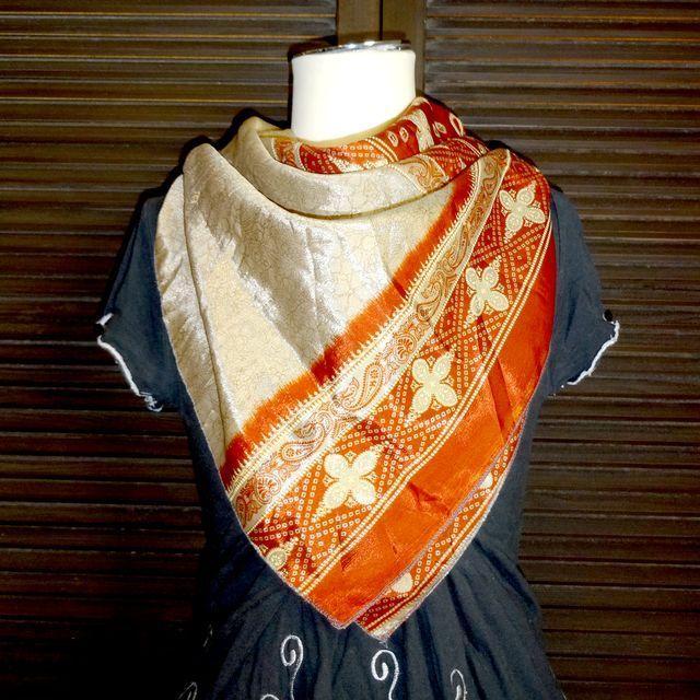 saris004 シルクサリーショール